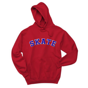 Skate Hoodie with Rhinestone Accents