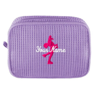 Personalized Skating Cosmetic Bag with Name