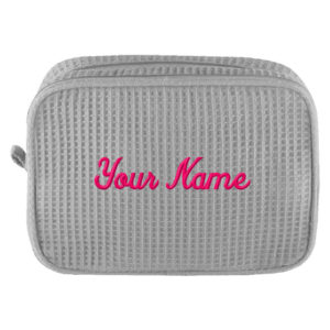 Personalized Cosmetic Bag with Name