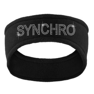 Fleece Synchro Skating Headband
